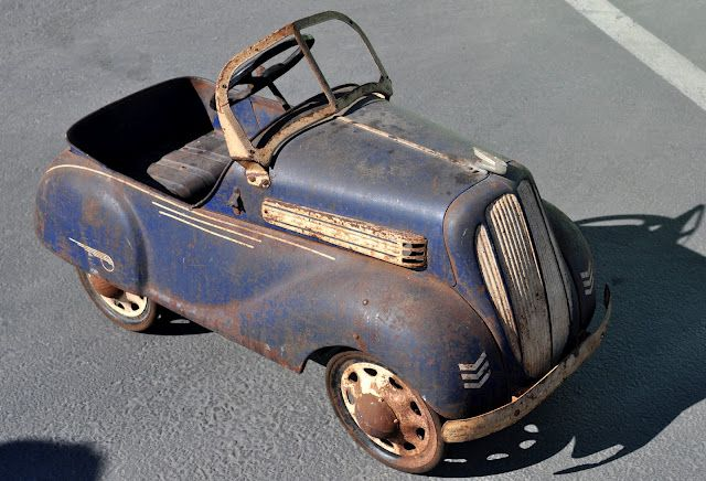 One cool pedal car