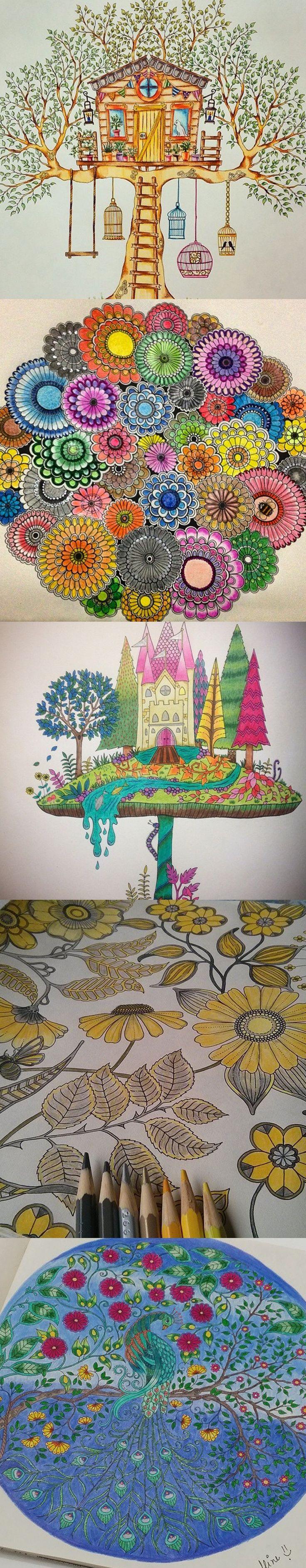 117 best beautiful coloring images on pinterest books mandalas