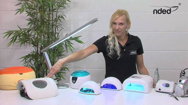 Nagelstudio-Geräte, UV Lampe, Nagelfräser, Maniküre Set elektrisch #nails #video #nagelstudio #geräte #maniküre #nded www.nded.de