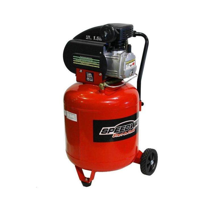 15 gal. 1.5 HP Portable Electric Vertical Air Compressor
