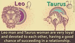 Compatibility between a leo woman and a taurus man