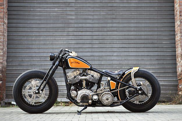 "1951 Harley ""FlyingPan"" by Thunderbike"