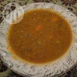 Photo de recette : Soupe aux pois cassés végétarienne
