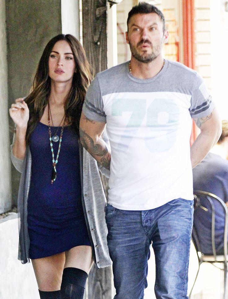 Megan Fox and Brian Austin Green in Los Feliz, California on June 16, 2012.