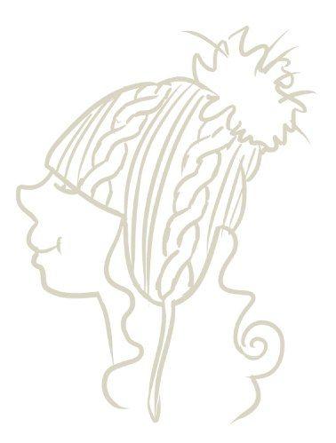 Катя Печень, вязание , шапка, помпон