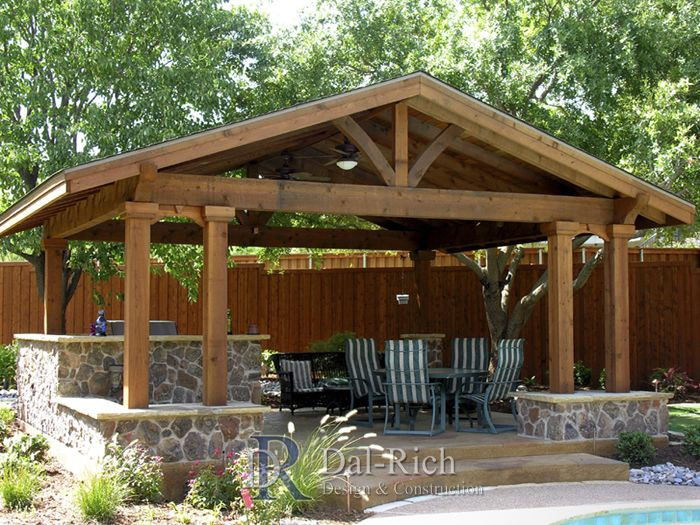 17 best images about 1 acre backyard on pinterest for Dallas outdoor kitchen designs