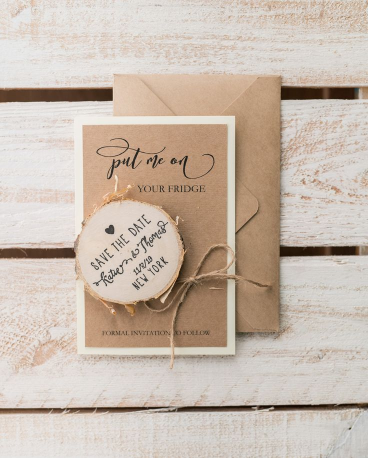 sending wedding invitations months before%0A Beautiful boho wedding invitations with magnets