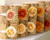 cork place card holders by KarasVineyardWedding via etsy