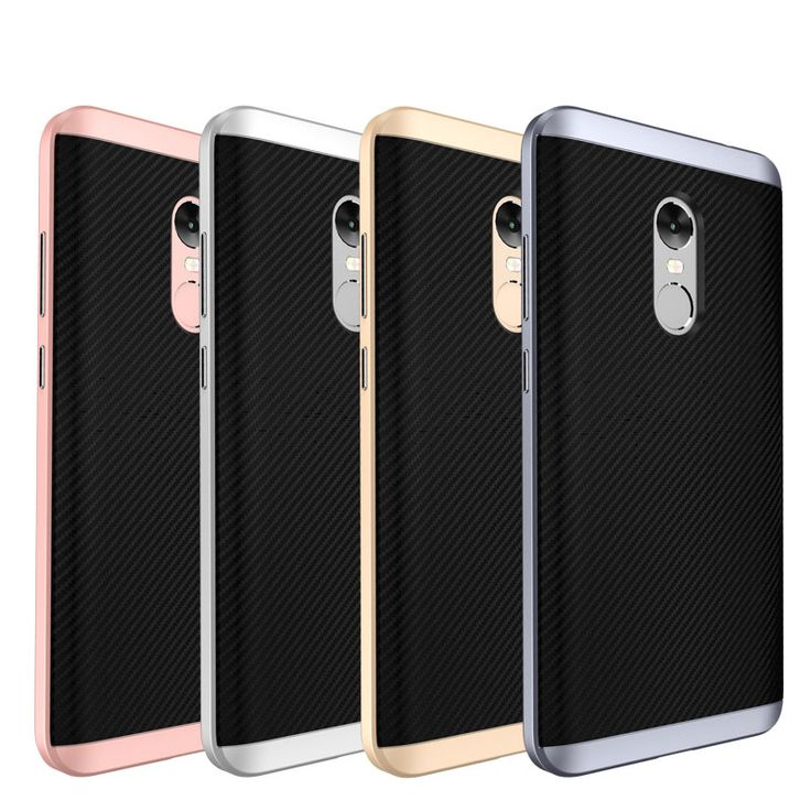 UCASE Hybrid Silicone+PC Frame Protective Case For Xiaomi Redmi Note 4X/Redmi Note 4 Global Edition Sale - Banggood.com