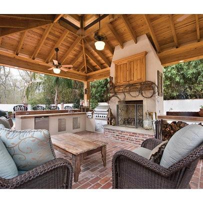 Arnold Masonry Design outdoor room
