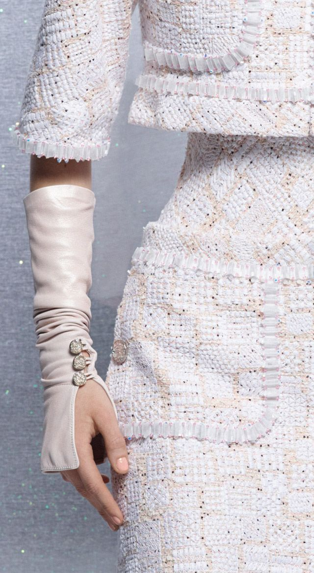 Chanel fingerless Gloves for Spring summer 2014