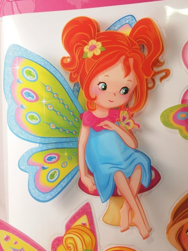 New Kids Room Decor 3D Wall Stickers, colorful fairies and flowers, removable   eBay $24 with free shipping Australia wide...