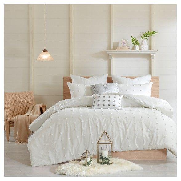 Kay Cotton Jacquard Duvet Cover Set Comforter Sets Bedding Sets Duvet Cover Sets
