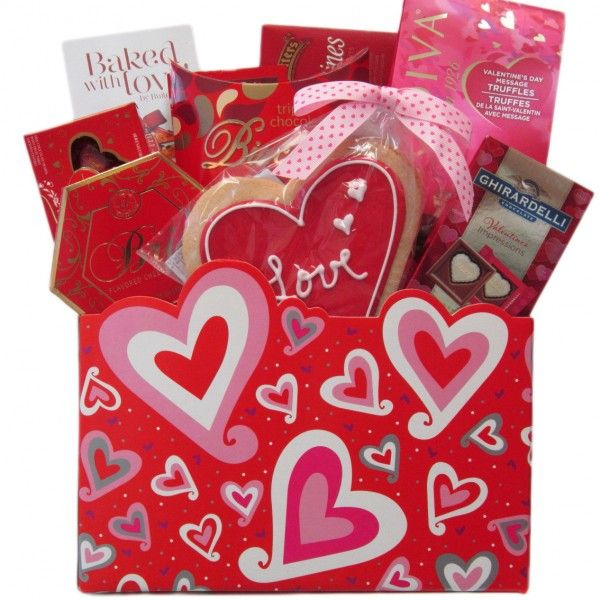 Valentine Medley Gift Basket