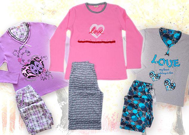 Womens' Cotton winter Pajamas by SexyMelia