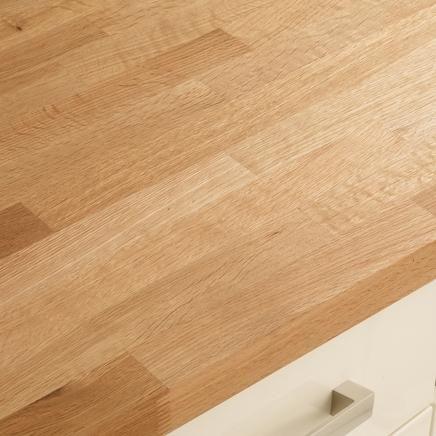Oak Block Solid Wood Worktop | Kitchen Worktops | Howdens Joinery