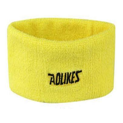 Women Men Sweat Sweatband Headband Yoga Gym Exercise Fitness Stretch Head Band Hair Badminton Grip Sports Safety Football M038