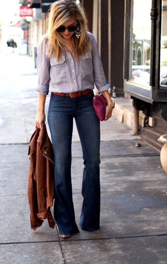 30+ Attractive Women Jeans Outfits Ideas For Work That Will Amaze You |  Jeans outfit for work, Black jeans women, Jeans outfit women