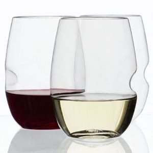 Govino Unbreakable Wine Glasses -- An upscale version of the red Solo cup for wine.  Great for klutzes like me!  From TheBoatGalley.com