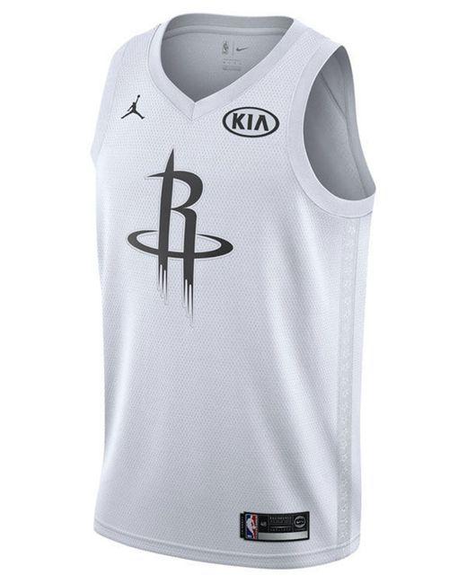 3708c4c4ed5 Nike - White James Harden Houston Rockets All-star Swingman Jersey for Men  - Lyst