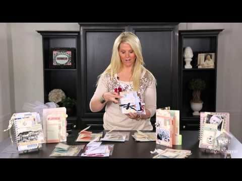 ▶ Teresa Collins: File Folder Albums - YouTube