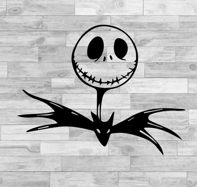 Jack Skellington Svg Jack Skellington Face Svg Nightmare Before Christmas Svg Png Jpeg Dxf Cricut Silhouette Vinyl Cutter File By Susushop 0 99 Usd Trong 2020