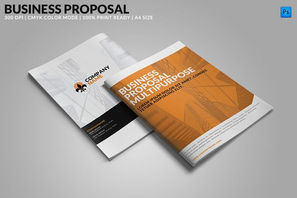 Check out Business Proposal: Multipurpose by WonderShop on Creative Market