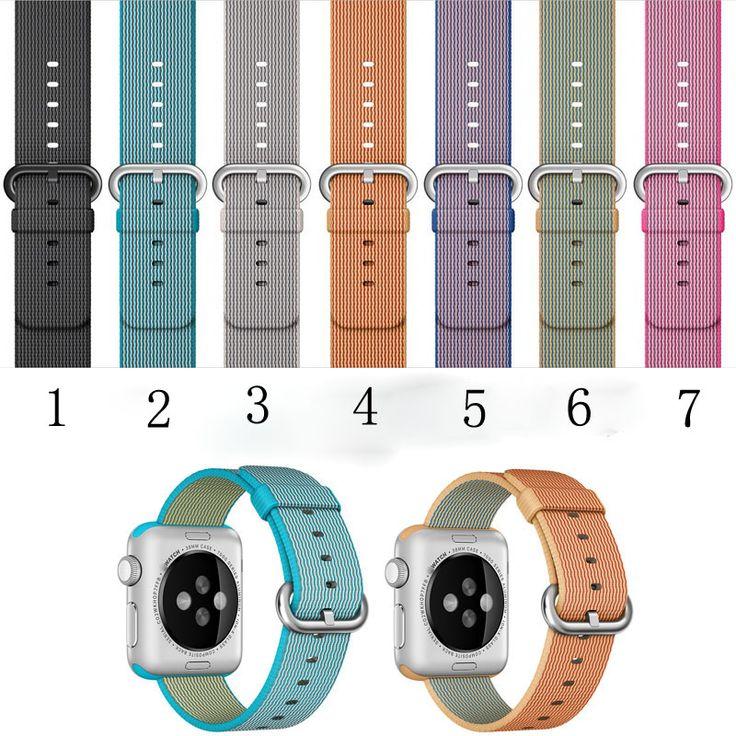 $25.00 (Buy here: https://alitems.com/g/1e8d114494ebda23ff8b16525dc3e8/?i=5&ulp=https%3A%2F%2Fwww.aliexpress.com%2Fitem%2FSpecial-Design-High-Quality-Canvas-Nylon-Sport-Fashion-38MM-42MM-Apple-Watchband-Watch-Strap-For-Iwatch%2F32682320533.html ) Special Design High Quality Canvas Nylon Sport Fashion 38MM 42MM Apple Watchband Watch Strap For Iwatch Apple Watch With Adapter for just $25.00
