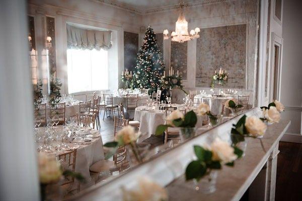 VÁNOCE NA SVATBĚ   Svatební blog - Pět věcí  Christmass tree on wedding / vánoční stromeček na svatební hostině