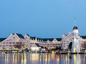 5. DisneyÔÇÖs Yacht Club Resort