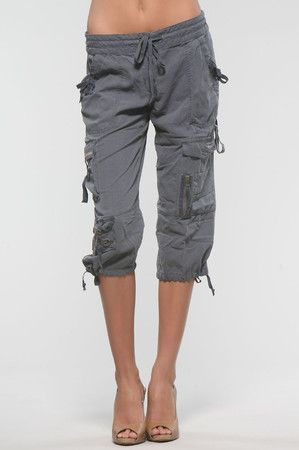 10 best cargo Capris images on Pinterest