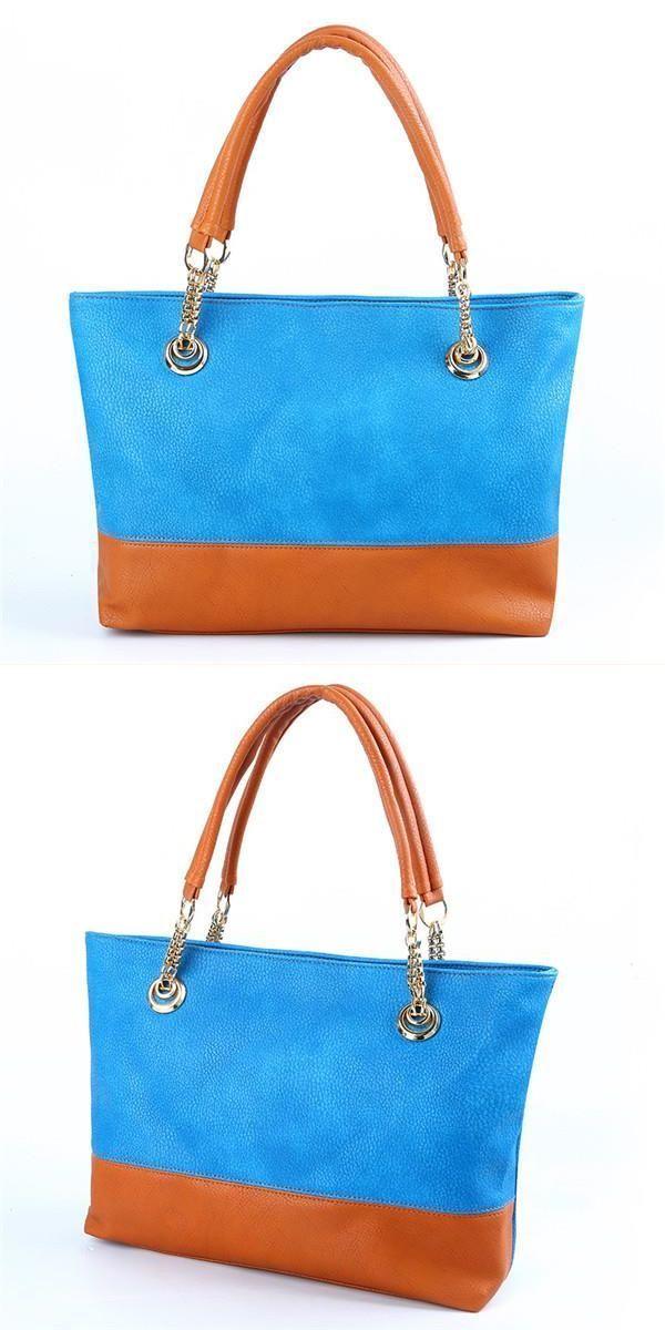 Handbags joondalup women pu leather tote bags casual candy color shoulder  bags large capacity shopping bags summer bags  86  handbags  replica  ham… 485c269977