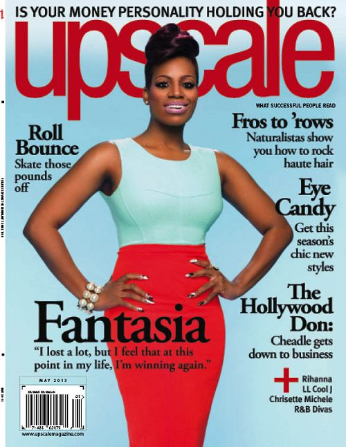 Fantasia Covers the May Issue of 'Upscale Magazine'