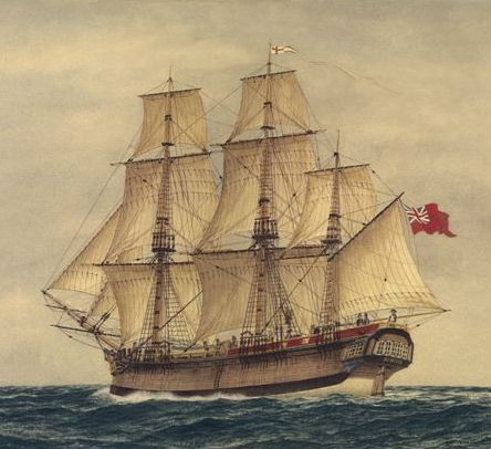 What were the names of the First Fleets ships - Answers