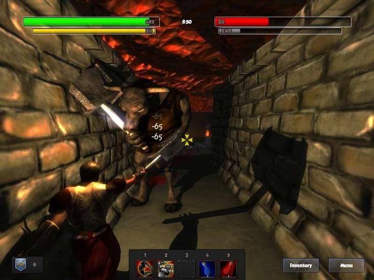 Dungeon Legends is a multiplatform, Massively Multiplayer