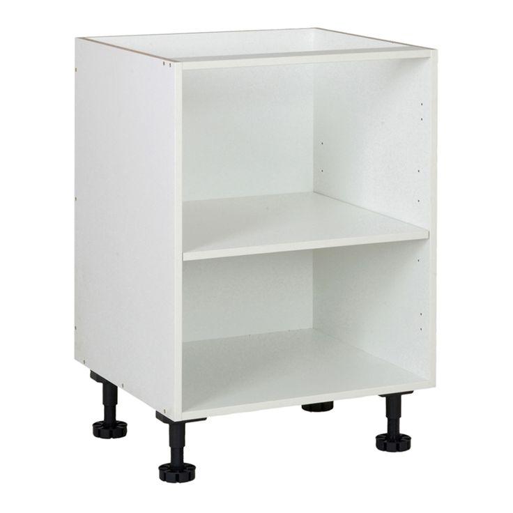 Kaboodle Kitset 600mm Base Carcase White