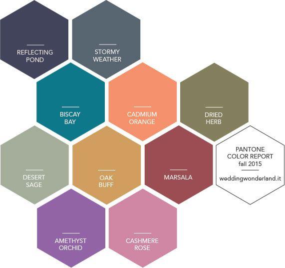 I colori Pantone per l'autunno 2015 - parte 2