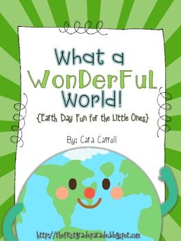 What a Wonderful World! {Earth Day Fun for the Little Ones}