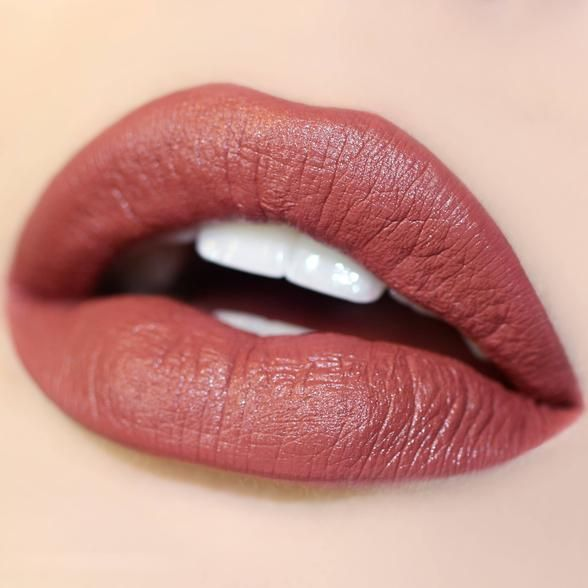 ColourPop Frick n' Frack Lippie - beautiful terra cotta reminds me of Scully