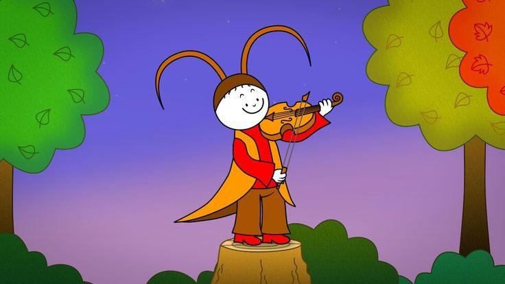 Bogyó és Babóca: A tücsök hegedűje