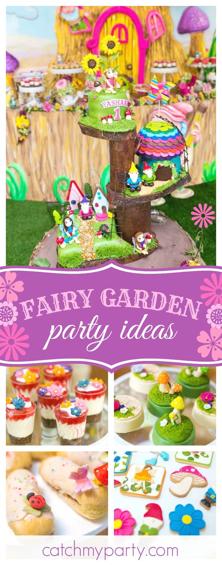 430 best Fairy Party Ideas images on Pinterest | Birthday party ...