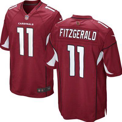 Nike Larry Fitzgerald Arizona Cardinals Cardinal Team Color Game Jersey