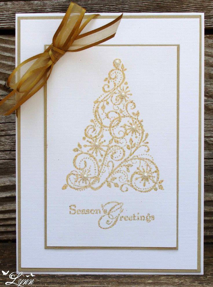 SU Snow Swirled - gold embossed - bjl
