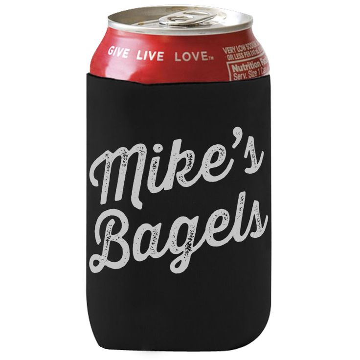 Mike's Bagels stubby holder. Our latest addition to our merch. lineup is a much needed stubby holder for your coldies.