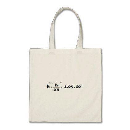 Planck Constant Tote Bag - college gift idea customize diy unique special