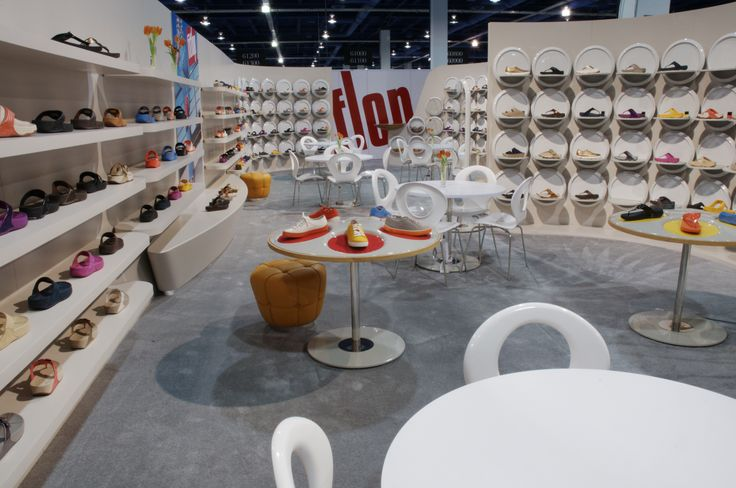 A Shot From The Fitflop Booth At The Platform Trade Show Las Vegas In 2011 The Display Even