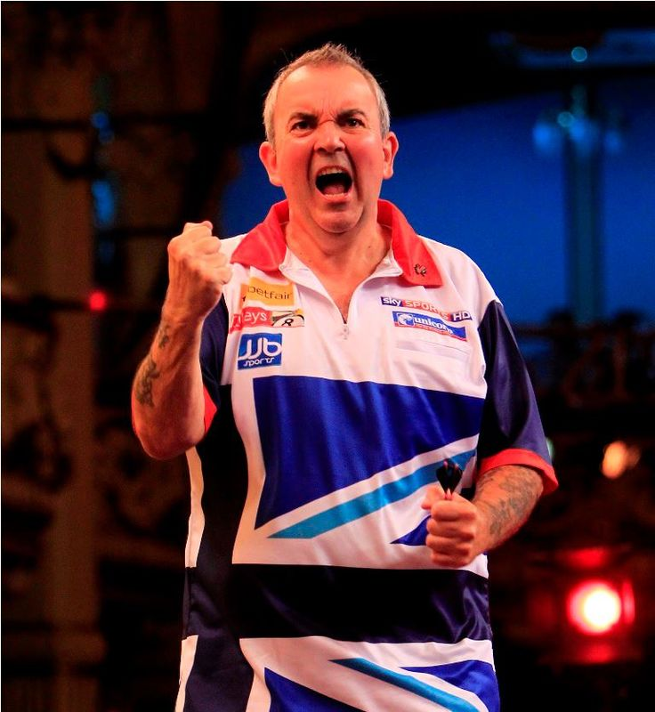 The Power - Phil Taylor - my fave darts player