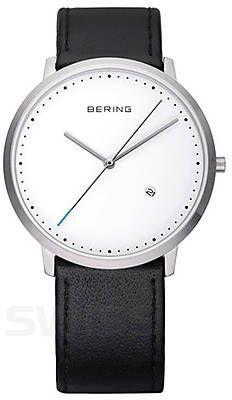 Dla każdej minimalistki obowiązkowy dodatek! #Bering #BeringWatch #black #white #modern #minimal  #watches #zegarek #watch #zegarki #butiki #swiss #butikiswiss