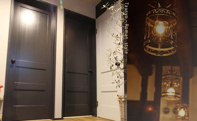 大正ロマン レトロモダンの空間演出にふさわしい室内ドア ガラス入り