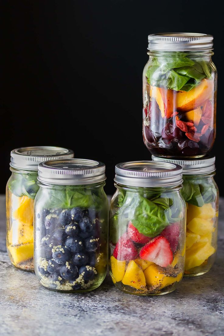 5 Make Ahead Breakfast Smoothies (Smoothie Packs)